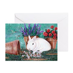 Twinkie Bunny Greeting Cards (Pk of 10)