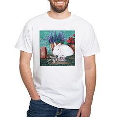 Twinkie Bunny White T-Shirt