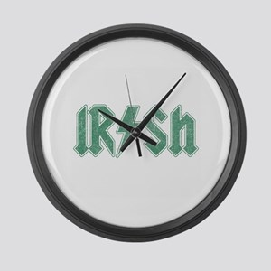 Irish Large Wall Clock