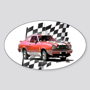 Mustang 1974 - 1978 Oval Sticker