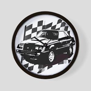 Mustang 1983 - 1984 Wall Clock