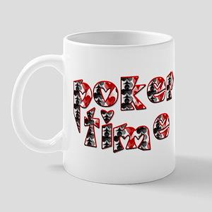 Poker Time Mug