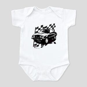 Mustang 1983 - 1984 Infant Bodysuit