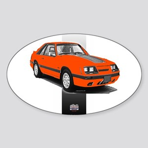 Mustang 1985 - 1986 Oval Sticker