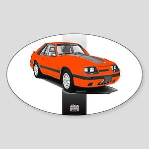 Mustang 1985 - 1986 Oval Sticker