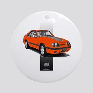 Mustang 1985 - 1986 Ornament (Round)