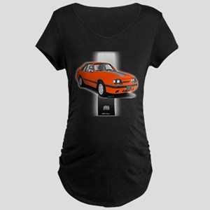 Mustang 1985 - 1986 Maternity Dark T-Shirt