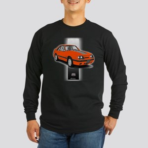 Mustang 1985 - 1986 Long Sleeve Dark T-Shirt