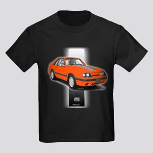 Mustang 1985 - 1986 Kids Dark T-Shirt