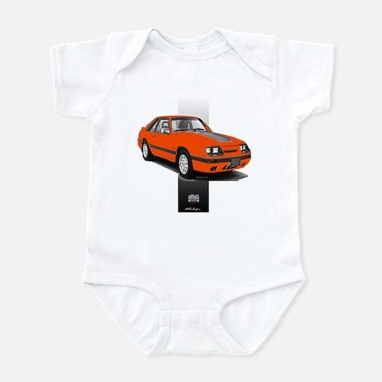 Mustang 1985 - 1986 Infant Bodysuit