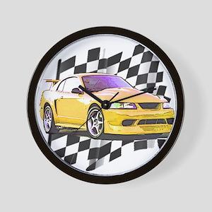 Mustang 1999 - 2004 Wall Clock