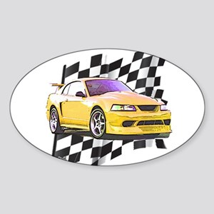 Mustang 1999 - 2004 Oval Sticker
