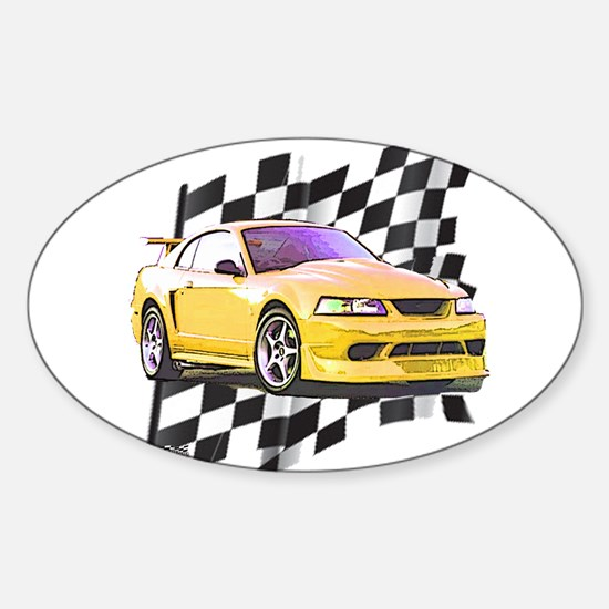 Mustang 1999 - 2004 Oval Decal