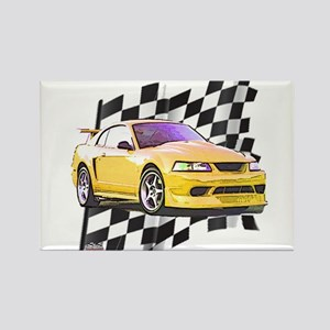Mustang 1999 - 2004 Rectangle Magnet