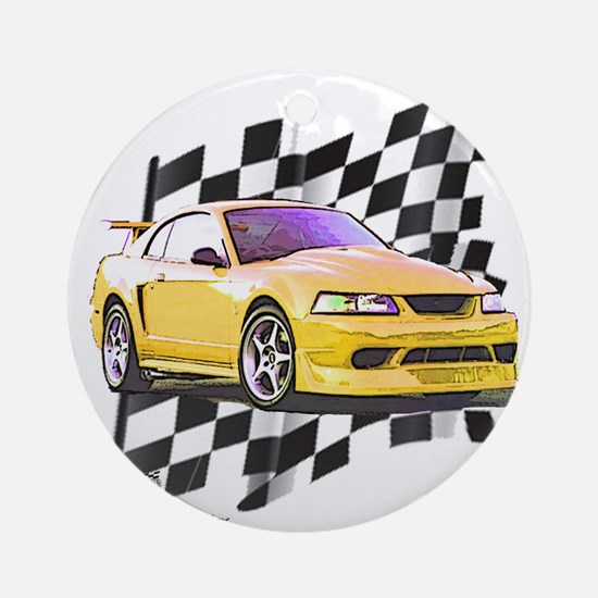 Mustang 1999 - 2004 Ornament (Round)
