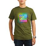 Three Peace Organic Men's T-Shirt (dark)