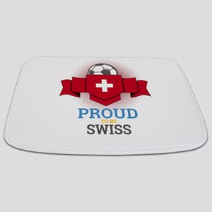 Football Swiss Switzerland Soccer Team Spo Bathmat