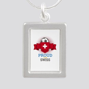 Football Swiss Switzerland Soccer Team S Necklaces