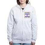 Gay Israel Women's Zip Hoodie