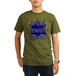 proud jewish zionist Organic Men's T-Shirt (dark)