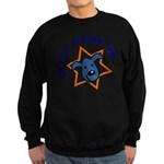 I Love Dogs (in Hebrew)! Sweatshirt (dark)
