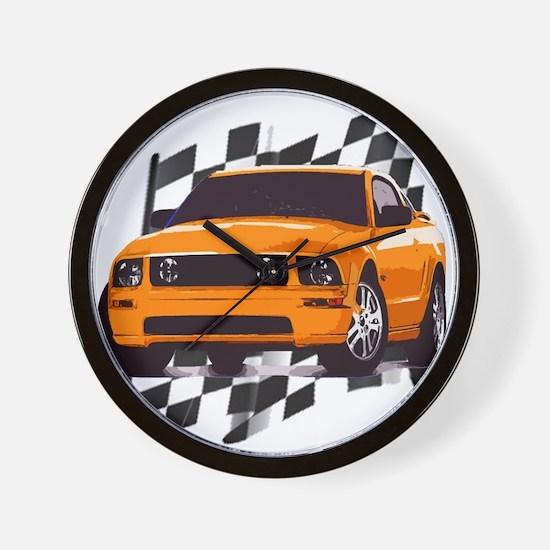 Mustang 2005 - 2009 Wall Clock