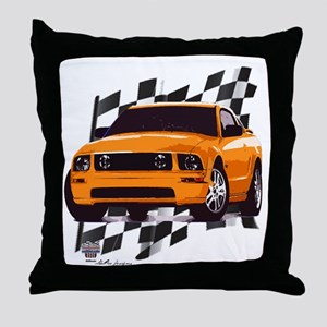 Mustang 2005 - 2009 Throw Pillow