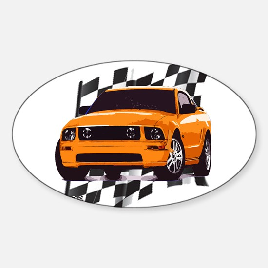 Mustang 2005 - 2009 Oval Decal