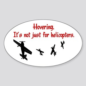 Hovering Oval Sticker