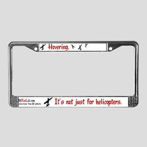 Hovering License Plate Frame