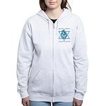 Bat Tzion Women's Zip Hoodie