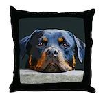 Rottweiler Throw Pillow