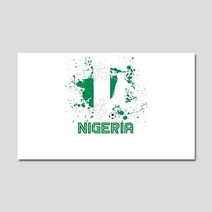 Football Worldcup Nigeria Niger Car Magnet 20 x 12