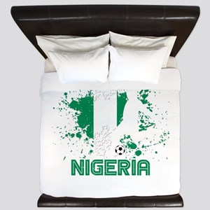 Football Worldcup Nigeria Nigerian Socc King Duvet