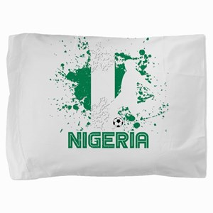 Football Worldcup Nigeria Nigerian Soc Pillow Sham