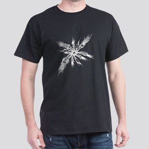 Aethereal Bloom Black T-Shirt