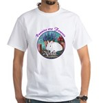 Bunnies are Forever White T-Shirt