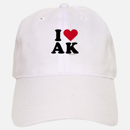 I Love Alaska ~ Baseball Baseball Cap