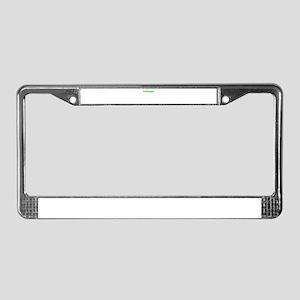 Treehugger License Plate Frame