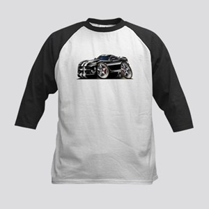 Viper GTS Black Car Kids Baseball Jersey