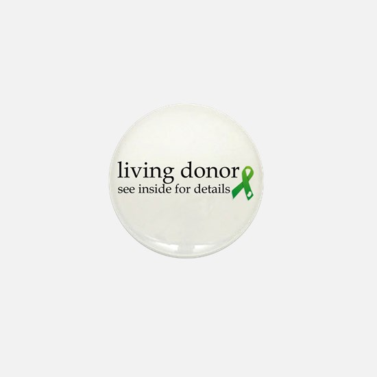 Kidney donor Mini Button (100 pack)