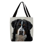 Bernese Mountain Dog Polyester Tote Bag
