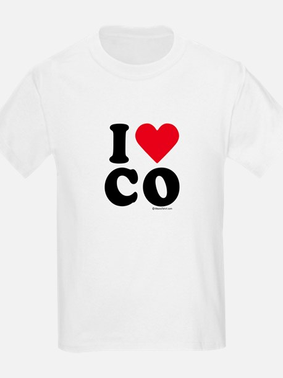 I Love Colorado ~  Kids T-Shirt