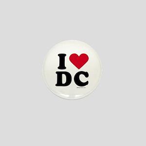 I Love DC ~ Mini Button