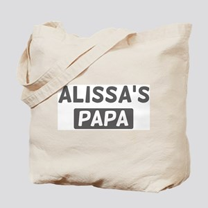 Alissas Papa Tote Bag