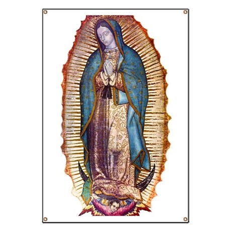Our Lady of Guadalupe Banner