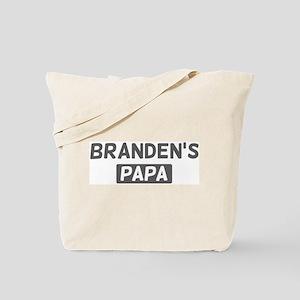 Brandens Papa Tote Bag