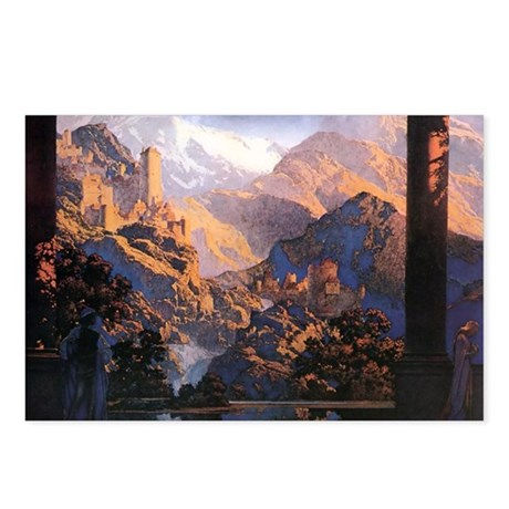 Maxfield Parrish Postcards (Package of 8)