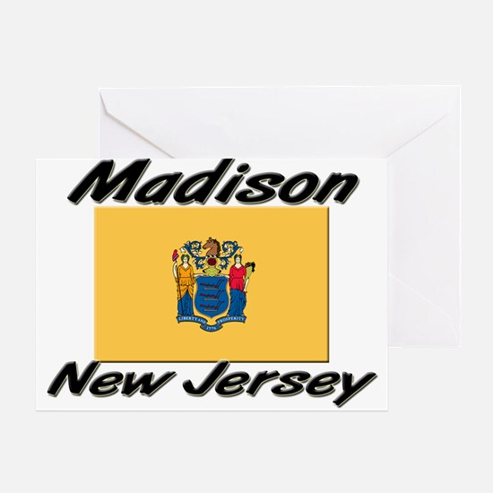 Madison New Jersey Greeting Card