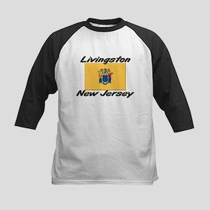 Livingston New Jersey Kids Baseball Jersey
